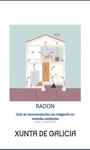 Radon. Guía de recomendacións de mitigación en vivendas existentes. Xunta de Galicia 2019