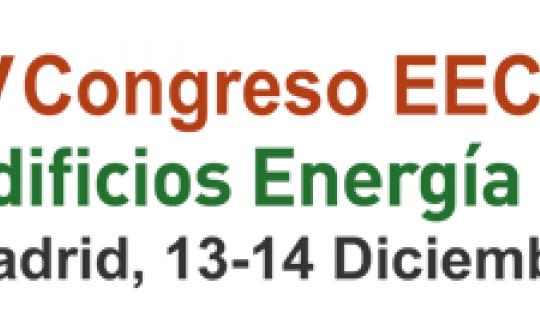 IV Congreso EECN Edificios Energía Casi Nula. Madrid. 13-14/12/2018