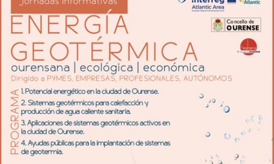 Xornada informativa – Enerxía xeotérmica. Ourense 23/05 de 2018