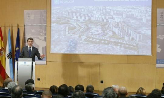 A construción de 1.600 vivendas no barrio de San Paio de Navia será unha gran oportunidade para a dinamización do sector inmobiliario en Vigo