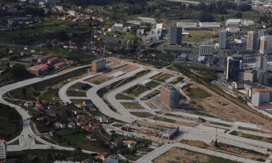 Un novo proxecto busca construír 40 novas vivendas no parque Ofimático da Coruña